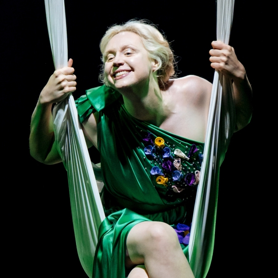 SEE 'THRONES' STAR GWENDOLINE CHRISTIE IN SHAKESPEARE'S TIMELESS ROMANTIC COMEDY ON THE BIG SCREEN AT THE TORCH THEATRE