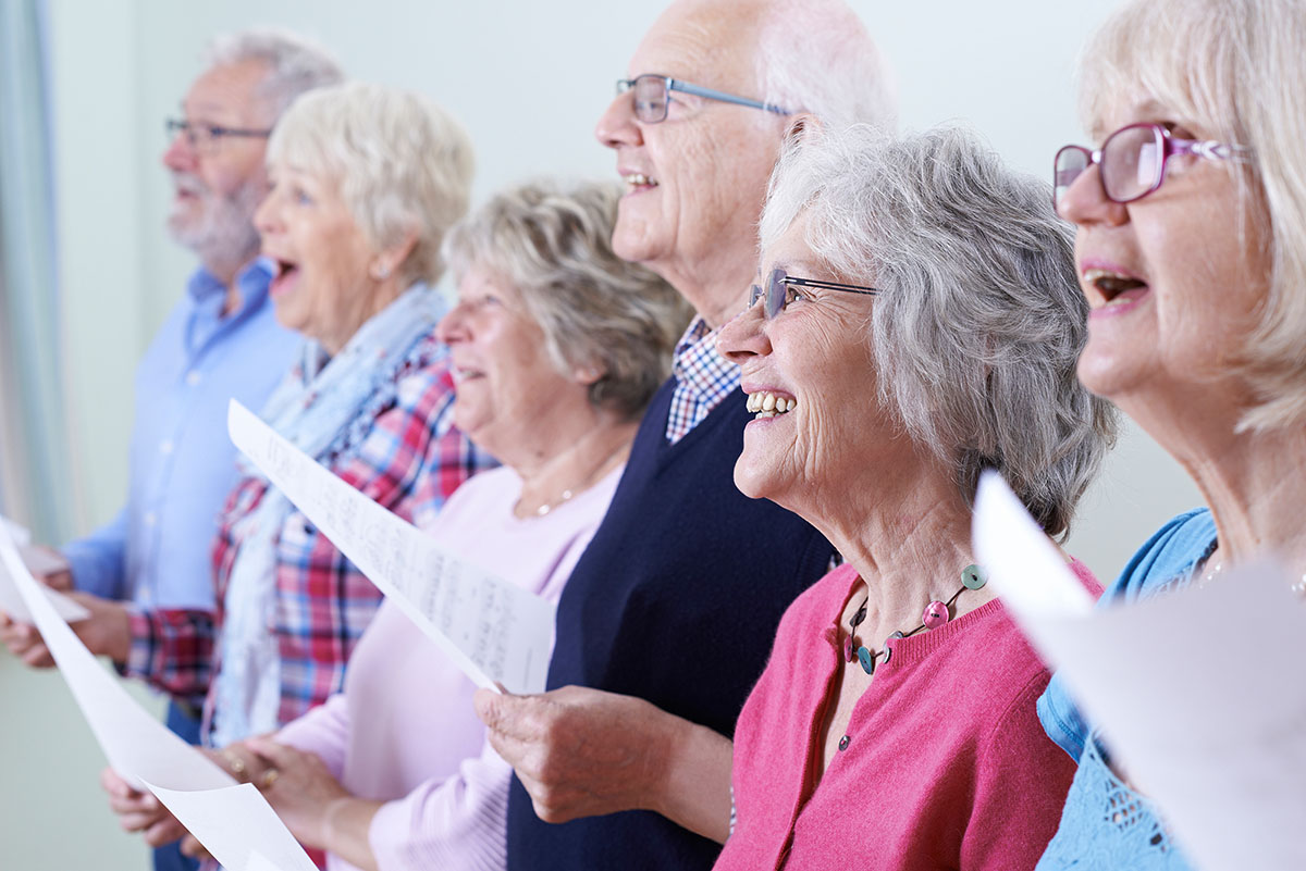 Welsh National Opera launches The Cradle Choir in Milford Haven, for people living with dementia in Pembrokeshire