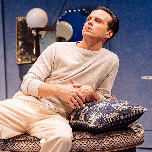 Fleabag's 'Hot Priest' returns to cinema screens in Noël Coward's classic comedy Present Laughter