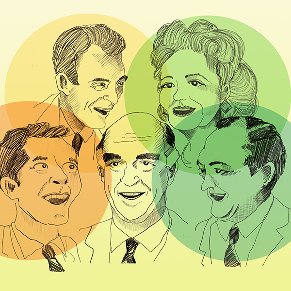 RETURN TO THE GOLDEN AGE OF RADIO COMEDY AT THE TORCH THEATRE WITH 'ROUND THE HORNE'