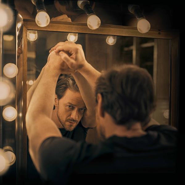 FEELING NOSEY? CATCH JAMES McAVOY IN THE WEST END'S HOTTEST NEW SHOW, SCREENING AT THE TORCH THEATRE