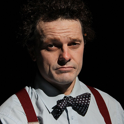 Rhodri Miles in Dylan Thomas: Clown in the Moon - On Stage Tue 17 April