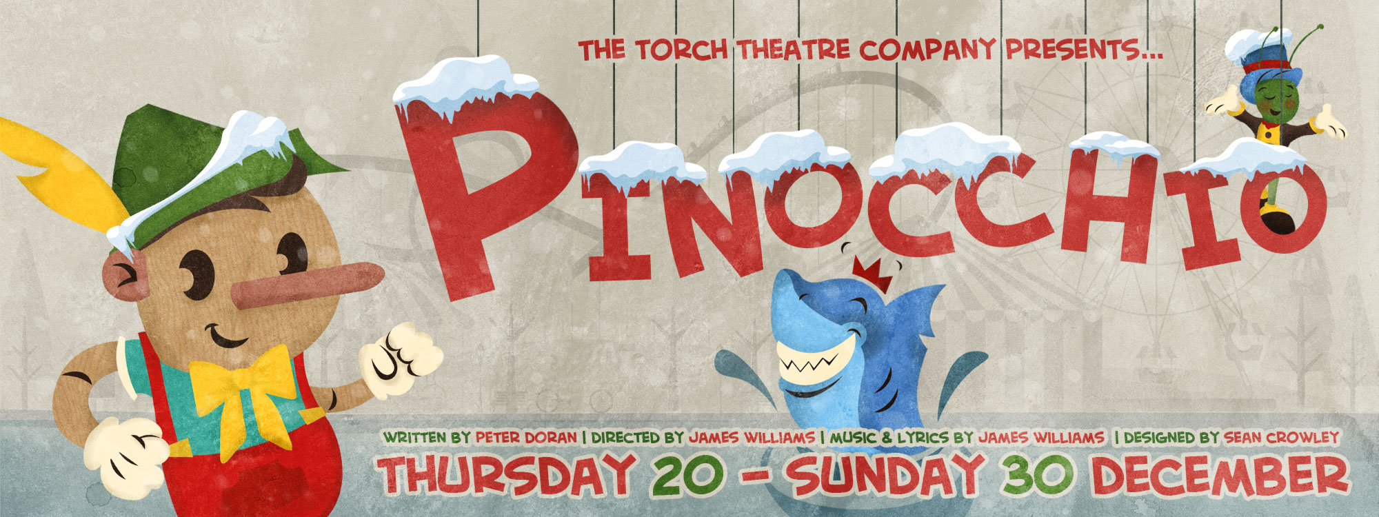 IT'S THE MOST WONDERFUL TIME OF THE YEAR AT THE TORCH THEATRE!